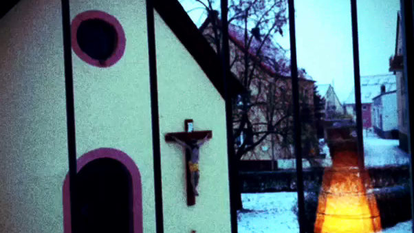 Chapel, Christ, Chross, Drais, Germany, Jesus, Mainz, Snow, Winter