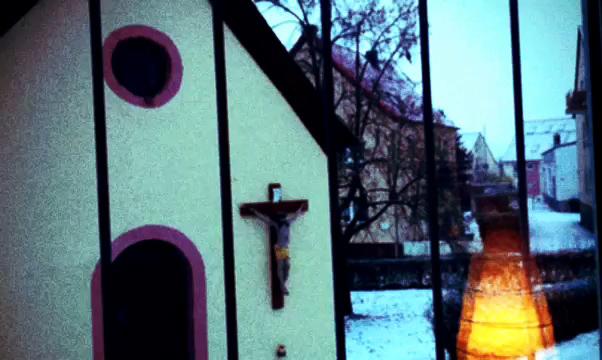 Chapel, Christ, Chross, Drais, Germany, Jesus, Mainz, Snow, Winter